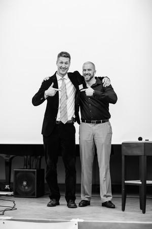 Dr. Martin Emrich und Felix Beilharz