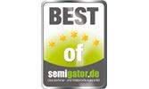 EMRICH Auszeichnung Best of semigator