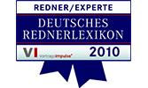 EMRICH Auszeichnung Deutsches Rednerlexikon 2010