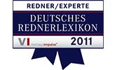 EMRICH Auszeichnung Deutsches Rednerlexikon 2011