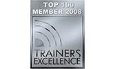 EMRICH Auszeichnung Top 100 Member 2008 Trainers Excellence