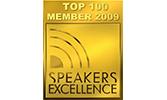 EMRICH Auszeichnung Top 100 Member 2009 Speakers Excellence