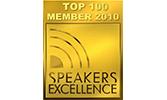 EMRICH Auszeichnung Top 100 Member 2010 Speakers Excellence