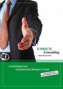 Infobroschüre zur Coaching Ausbildung