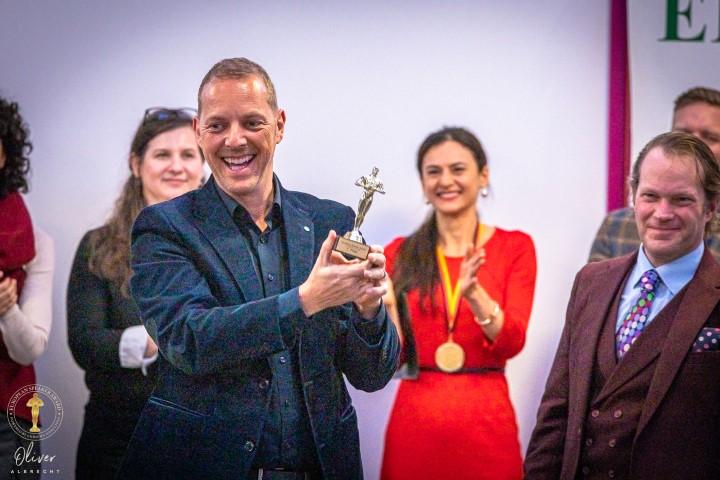 Norman Gräter Preisträger European Speaker Award