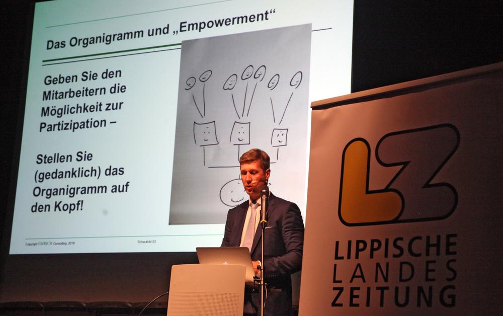 VUKA Vortrag Organigramm